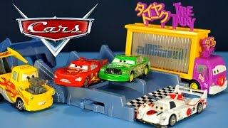 getlinkyoutube.com-Тачки - Игрушки из Мультика. Молния Маквин. Disney Pixar Cars - Photo finish raceway
