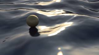 getlinkyoutube.com-My first water animation test. No plugins C4D