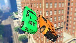 getlinkyoutube.com-TOUCH ME IN MID AIR! (GTA 5 Online)