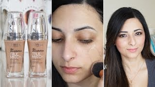 getlinkyoutube.com-L'Oreal True Match Foundation First Impressions Review | Le Beauty Girl