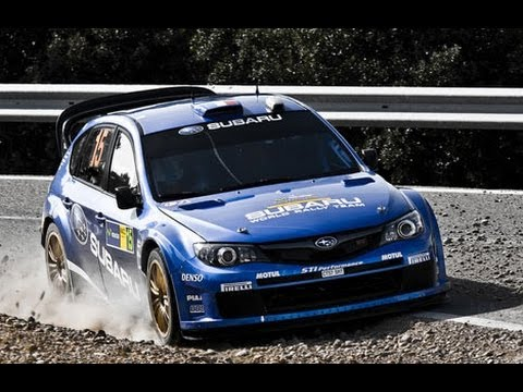 Subaru Impreza STI WRC'09 - Pure sounds