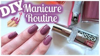 DIY Perfect Manicure Routine At Home!!! | JennyClaireFox