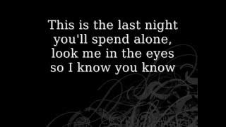 getlinkyoutube.com-Skillet- The Last Night-Lyrics