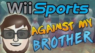 getlinkyoutube.com-Wii Sports Bowling Against My Brother! (New 1v1 Series)