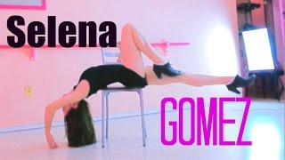 getlinkyoutube.com-Selena Gomez - The Heart Wants What it wants / Tutorial pasos / Perfecta de pies a cabeza