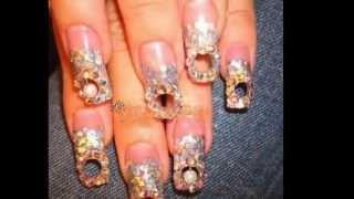 getlinkyoutube.com-Самые ужасные виды дизайна ногтей.