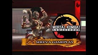 Mortal Kombat: Armageddon - Sheeva Gameplay [720p60]