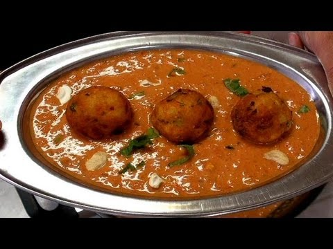 Malai Kofta Curry - Cheese balls in Creamy Gravy -  Indian Recipe Videos by Bhavna