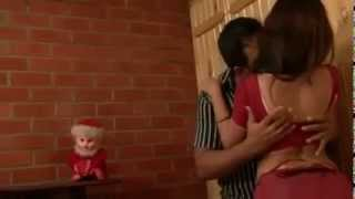 Indian Housewife Kissing Romance Scene 2014