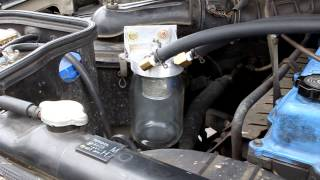 getlinkyoutube.com-CONDENSATOR PCV Oil Catch Can Installation and 1 Month Test
