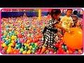Mandi Bola Anak di Playground Bersama Teman - Fun Play Balls Pit Kids Playground