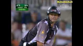 getlinkyoutube.com-Adam Gilchrist smashes Australia - not fake! Awesome viewing