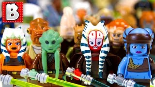 getlinkyoutube.com-Every Lego Jedi Minifigure Ever!!! 127 Minifigs in total!!! | Collection Review