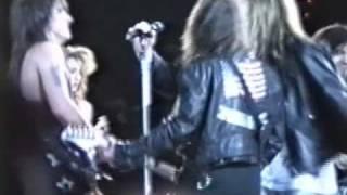 """getlinkyoutube.com-Bon Jovi w/ Skid Row, Billy Squier, Sam Kinnison - """"Wild Thing"""" - 6-11-89 - Giants Stadium, NJ"""