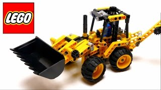getlinkyoutube.com-Lego Technic - Mini Backhoe Loader - 42004 - Assembly Instructions Video