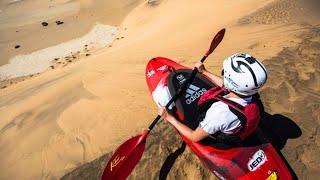 getlinkyoutube.com-Kayaking the Sand Dunes of Namibia