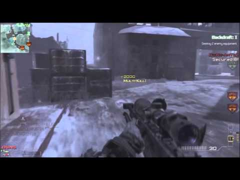 MW3 - INSANE 5 Kills w/ 1 Stun Grenade