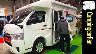 getlinkyoutube.com-【ベリー】ハイエース標準ボディを使用し家庭用エアコンを搭載したキャブコン Japanese Campingcar Motorhome