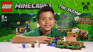 getlinkyoutube.com-LEGO MINECRAFT - Set 21114 THE FARM - Unboxing, Review, Time-Lapse Build