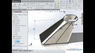 getlinkyoutube.com-Square to Round Duct in SolidWorks Sheet Metal