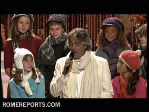 Andrea Bocelli releases a new Christmas CD