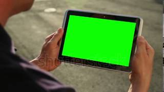 getlinkyoutube.com-Green Screen Tablet PC
