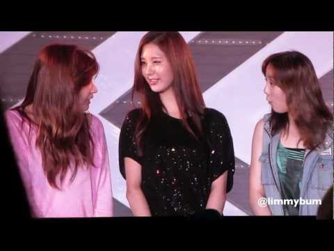 120818 SMTown Seoul Rehearsal/Global Fan Meet TaeNy TTS teaser [FANCAM]