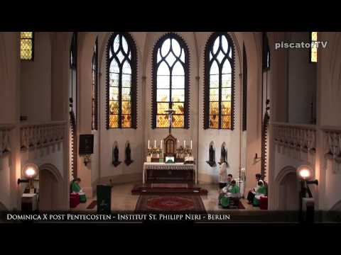 Dominica X post Pentecosten 07 Alleluia - Traditional Latin Mass
