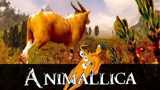 getlinkyoutube.com-Skyrim Mod: Animallica - Skyrim Wildlife Overhaul