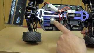 1/10 Electric Off-Road R/C Buggy Stock Model by Exceed RC