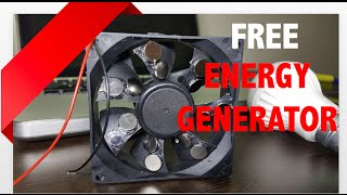 getlinkyoutube.com-Free Energy Generator Homemade using Magnet and CPU FAN - Free Green Power Energy