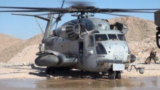 getlinkyoutube.com-U.S. Marines Travel Aboard CH-53E Super Stallion