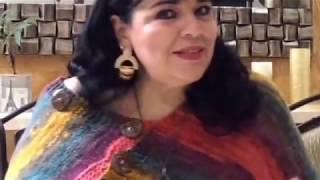 getlinkyoutube.com-TEJE EN AGUJAS PONCHO MIL ESTILOS - Fácil y rápido - Yo tejo con LAURA CEPEDA