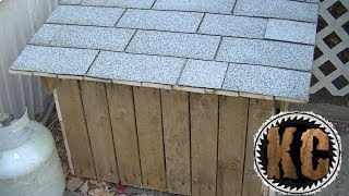 """getlinkyoutube.com-PALLET STORAGE BOX Made from Free Pallets """"Building with pallets"""""""
