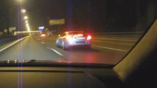 getlinkyoutube.com-Mercedes CL65 AMG Evotech vs Mclaren SLR