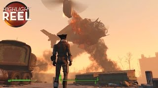 getlinkyoutube.com-Highlight Reel #178 -  Fallout Aircraft Can't Decide If It Wants To Crash