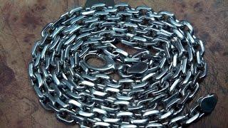 Якорная цепочка серебро 925 проба