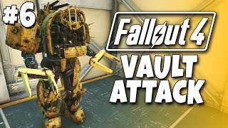 getlinkyoutube.com-Fallout 4 - The Meat Factory #6 - Vault Attack