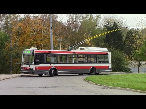Scenes from the Brno Tram & Trolleybus System Part 1