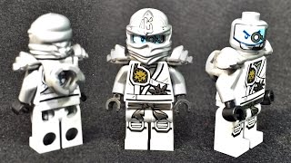 getlinkyoutube.com-티타늄 닌자 쟌의 부활의 레고 닌자고 정품 미니피규어 소개 Leog ninjago titanium ninja