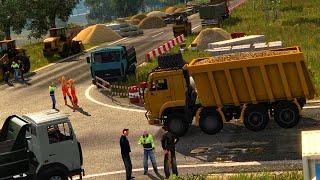 getlinkyoutube.com-Euro Truck Simulator 2 - KAMAZ Hafriyat Kamyonu (Rusya Haritası)