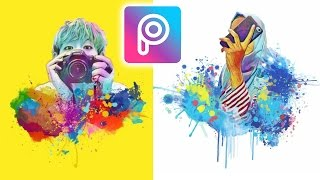 Cara Edit Foto Magic Splash Di Android Dan IOS | Picsart Tutorial