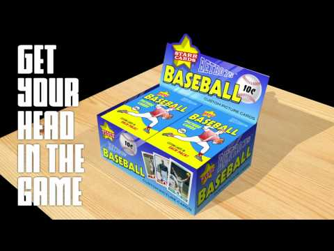 Make Your Own Baseball Card (Starr Cards Retro 75)