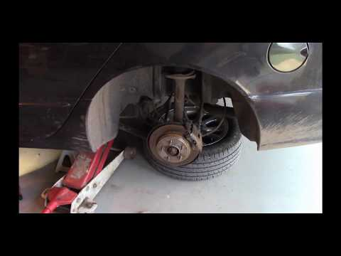 Replacing Wheel Speed Sensor (Chrysler and many other cars)