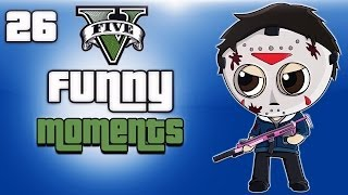 getlinkyoutube.com-GTA 5 Online Funny Moments Ep. 26 (Playing with subscribers)