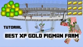 getlinkyoutube.com-Tutorial: Best AFK XP Gold Pigman Farm on Youtube! 1.11/10/9/8