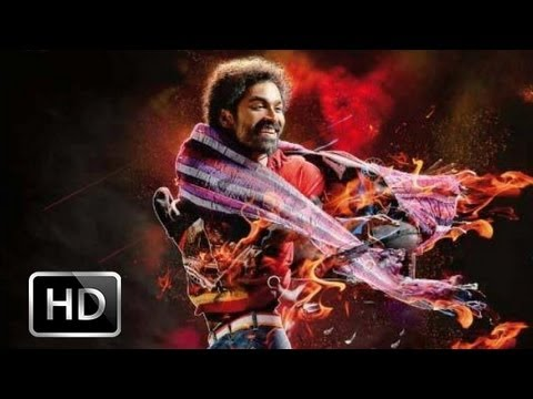Tamil Star Dhanush's Anegan First Look