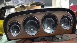 getlinkyoutube.com-1969 Mustang Restoration Instrument Panel Gauge Cluster Part 56  BucksWoodshop Mail Call