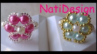 getlinkyoutube.com-ANILLOS PERLA EN COLOR PASTEL-RINGS PEARLS PASTEL COLOR