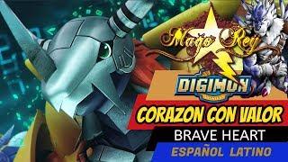 getlinkyoutube.com-CORAZON CON VALOR - Mago Rey - Brave Heart - ESPAÑOL LATINO- Digimon 01 Tema de Evolucion